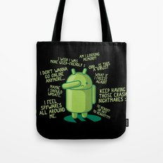 PARANOID ANDROID Tote Bag