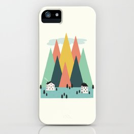 The High Mountains iPhone Case