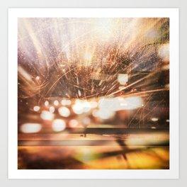 Traffic Lights Art Print