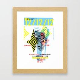 121212 ANALOG zine Framed Art Print
