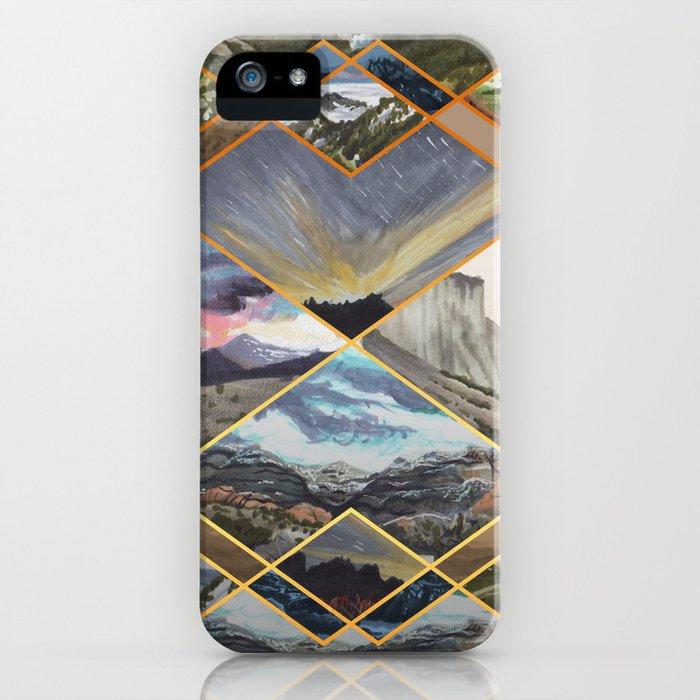 Diamond Mountains iPhone Case