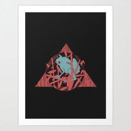 NightCroaking Art Print