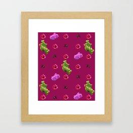 Flora and Fauna 2 Framed Art Print