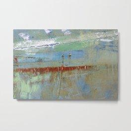 Harbour Abstract II - JUSTART (c) Metal Print