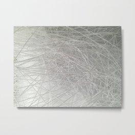 "Chiharu Shiota's ""Where Are We Going?"" Installation - Close Up Photograph Metal Print"