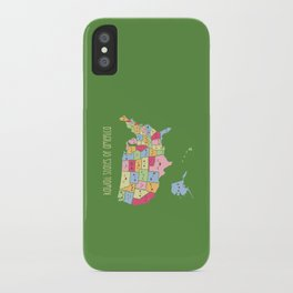 Kawaii States of America iPhone Case