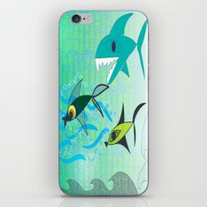 Fish Tale iPhone & iPod Skin
