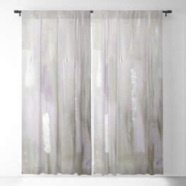 Lavender & Silver Blackout Curtain