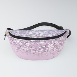 Sparkly Unicorn Pink Glitter Ombre Fanny Pack