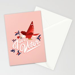 I am a voter. by Ariel Sinha Stationery Cards
