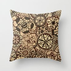 MyFantasticGarden Throw Pillow
