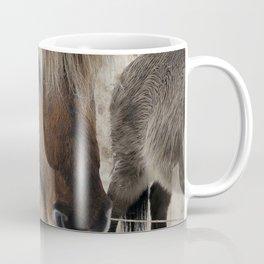 snowy Icelandic horse Coffee Mug