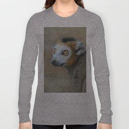 Golden Crowned Lemur Long Sleeve T-shirt