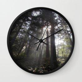 Deception Pass Trail Wall Clock