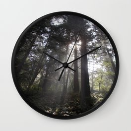 Deception Pass Trail Wall Clock