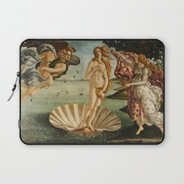 The Birth of Venus (Nascita di Venere) by Sandro Botticelli Laptop Sleeve