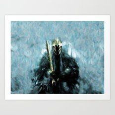 Nazgul After The Ring - Painting Style Art Print