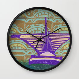 MAM Urban Milwaukee Wall Clock
