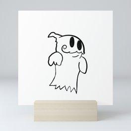 Maybe? (SHIRTLESS) Mini Art Print
