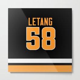 letang 58 Metal Print