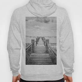Old Dock Hyannis Port Cape Cod Ma Hoody