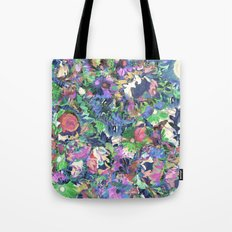 Flower Explosion Tote Bag