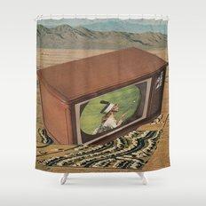 Anti-Beneficent Antics Shower Curtain