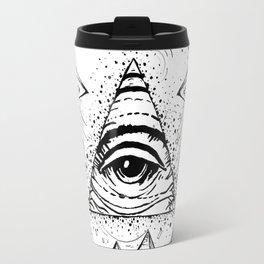 UFO Pyramid Capture Travel Mug