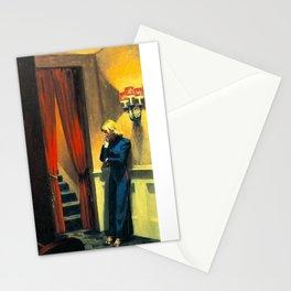 NEW YORK MOVIE - EDWARD HOPPER Stationery Cards