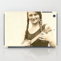 ursula iPad Cases featuring Ursula by Julia Kathryn