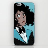 magical girl iPhone & iPod Skins featuring Magical girl Sally by Eviko