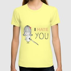 I Hate You / Kill Bill Lemon SMALL Womens Fitted Tee