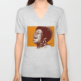 Aretha Franklin Unisex V-Neck