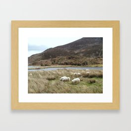 Irish Countryside Framed Art Print