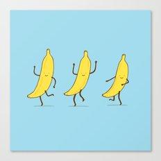 Banana shake Canvas Print