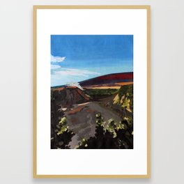 Kilauea Iki Framed Art Print