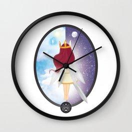 Bringer of light Wall Clock
