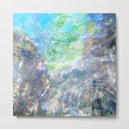 Aqua 7 Metal Print