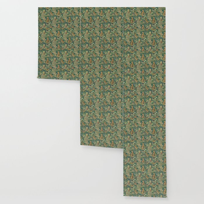 The Forest William Morris Wallpaper