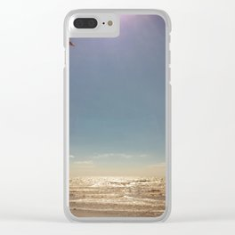 Kite surf Clear iPhone Case