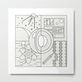 Evo Metal Print