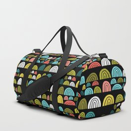 stone rainbows color Duffle Bag