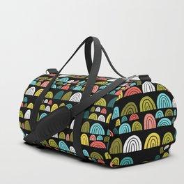 stone rainbows color Duffle Bag