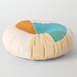Abstraction_SUN_Rising_Minimalism_001 Floor Pillow