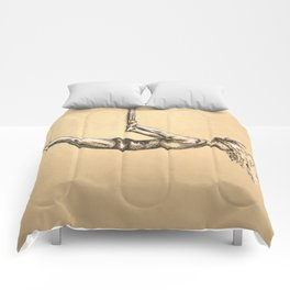 The Strength to Float Comforters