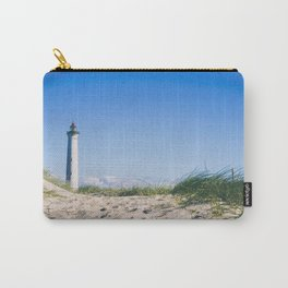 Nantucket Beach Lighthouse Carry-All Pouch