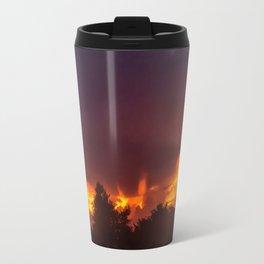 Sunset After The Storm Travel Mug