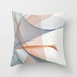 Warm Blossom Vertical Throw Pillow
