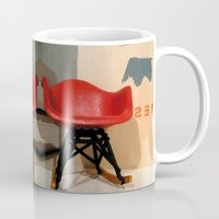 eames Mugs featuring Eames by MoMo