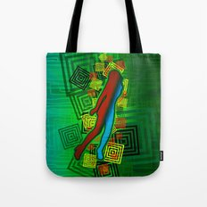 Raimbow Lady Tote Bag